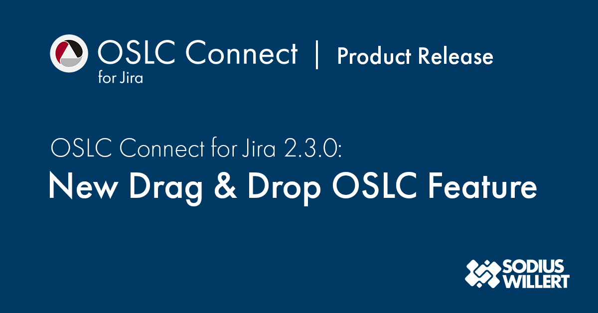 New enhancements on OSLC Connect for Jira to help engineers create drag and drop requirements links in their natural flow.