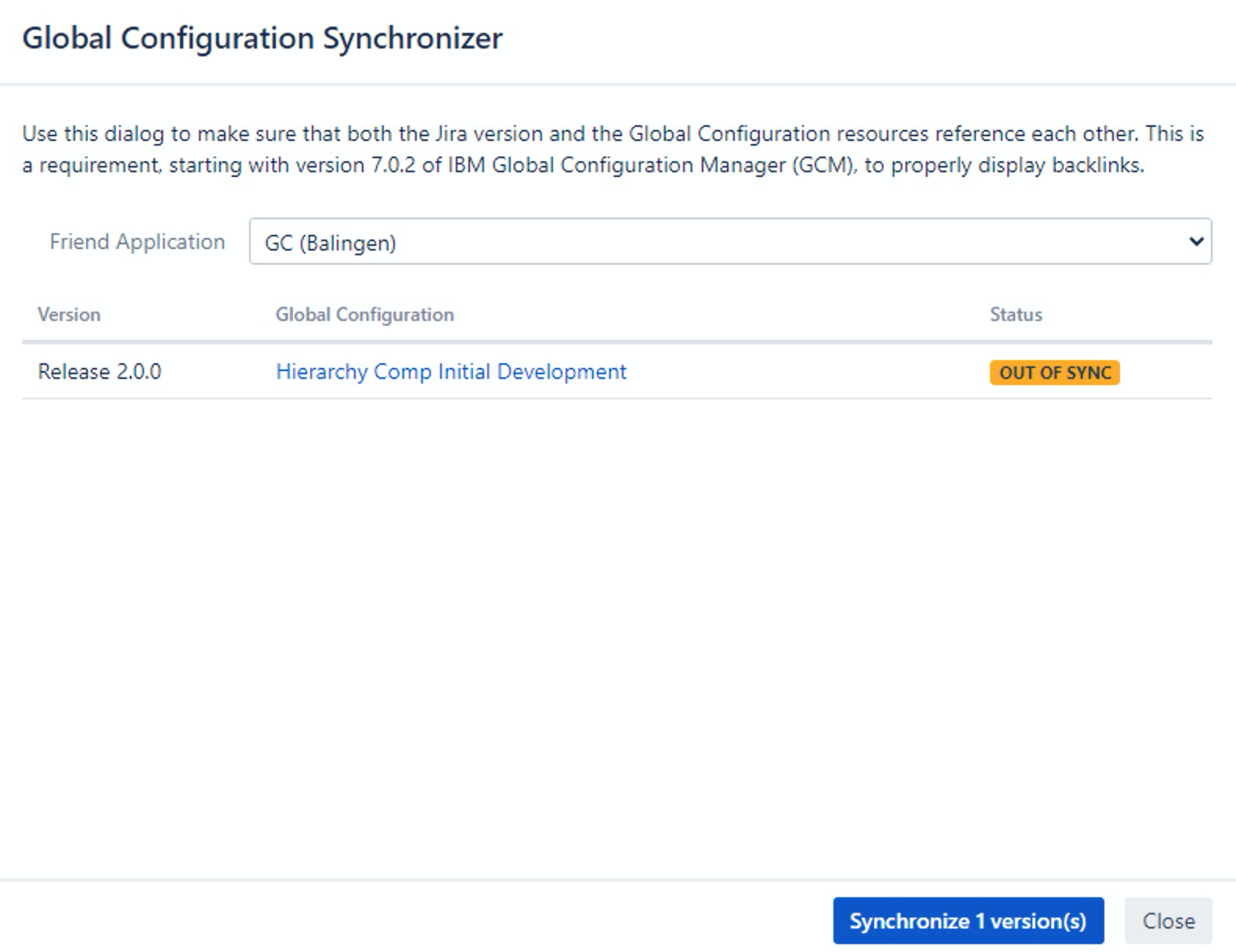 Synchronizing your Mappings_OSLC Connect for Jira 2.6.0_SodiusWillert