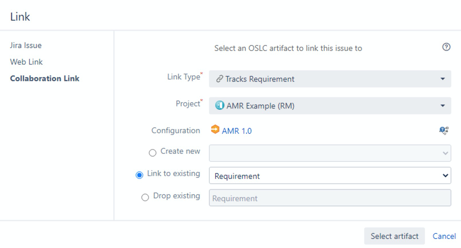 What Configuration is Used for My New Link_OSLC Connect for Jira 2.6.0_SodiusWillert