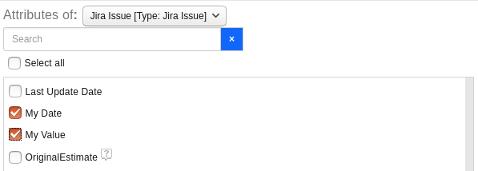 Custom Fields in Report Builder_OSLC Connect for Jira 2.5.0_SodiusWillert
