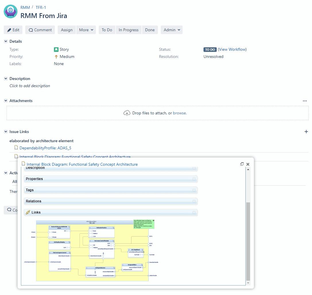 Jira Rhapsody Model Manager_OSLC Connect for Jira 2.5.0_SodiusWillert