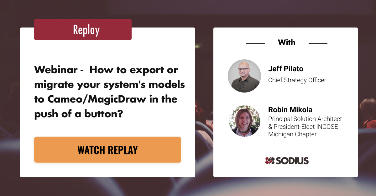 Watch the replay of our Webinar now!