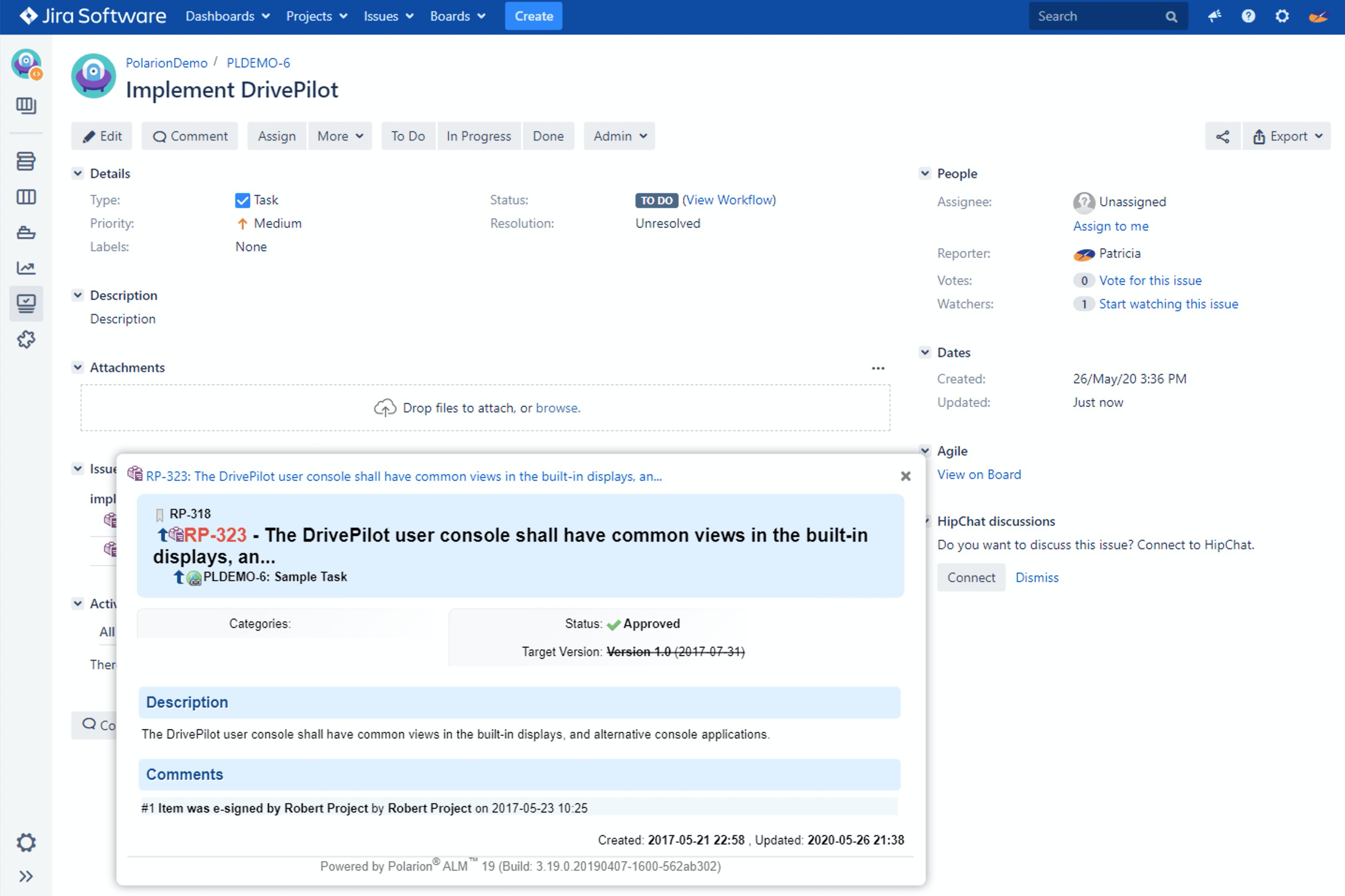 Link Jira with Polarion_OSLC Connect for Jira_SodiusWillert_1