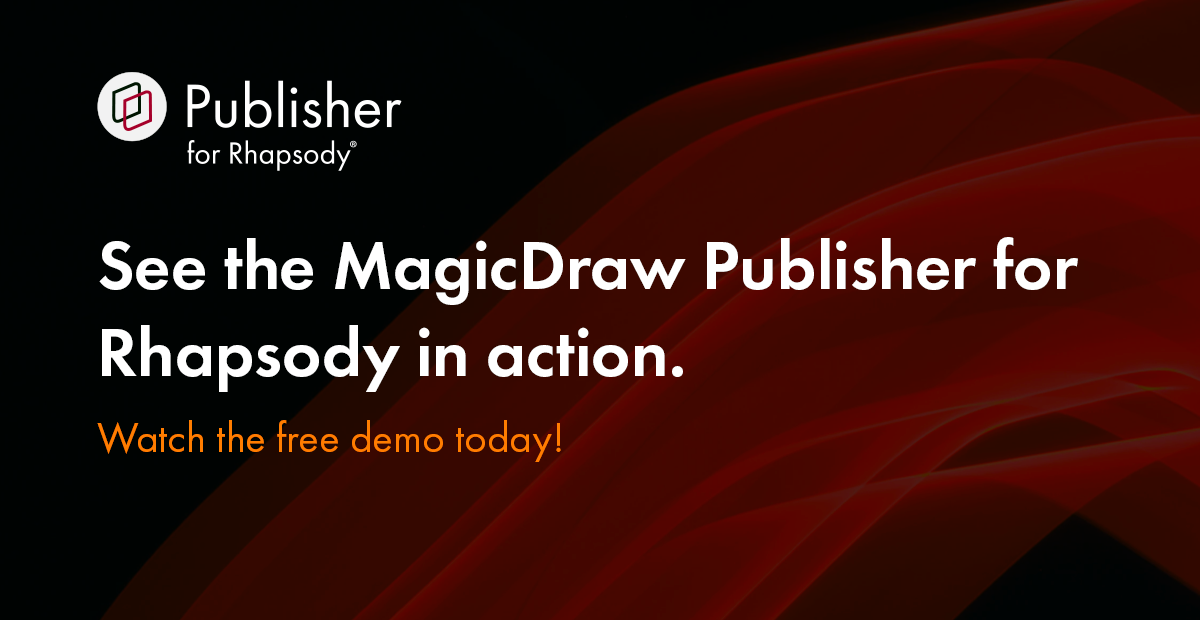 Webinar MagicDraw Publisher for Rhapsody Demonstration